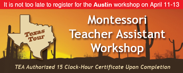 texas tour - teacher assistant's workshop